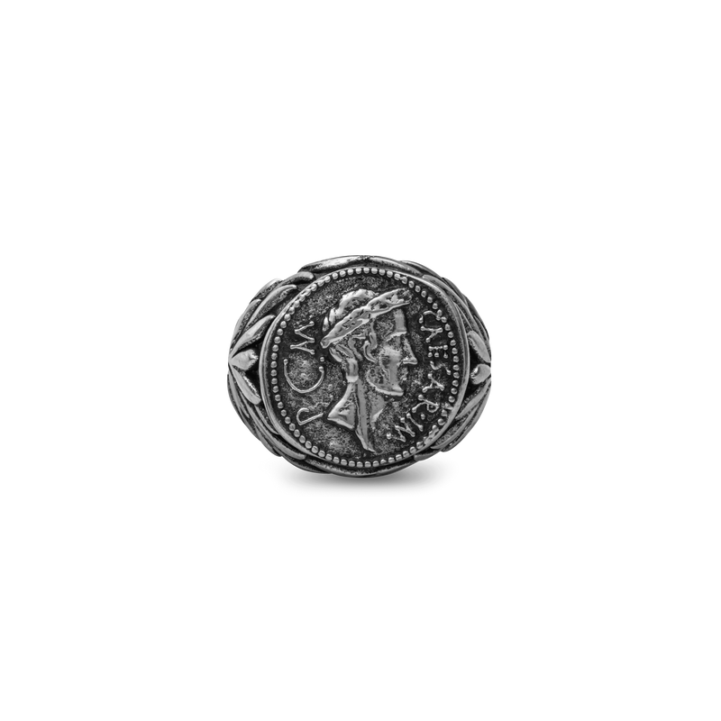 Julius Caesar Ring - Ancient Silver