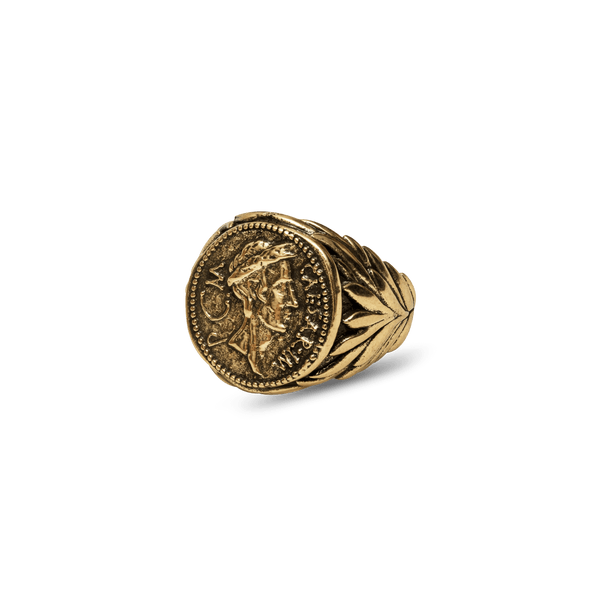 Julius Caesar Ring - Ancient Gold