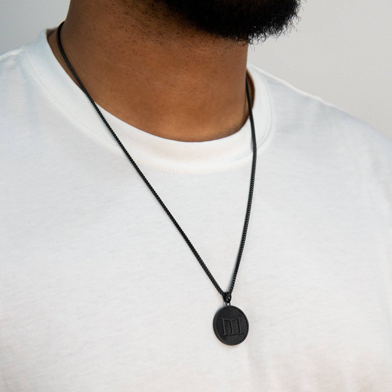 Empire Necklace - Black - Marcozo