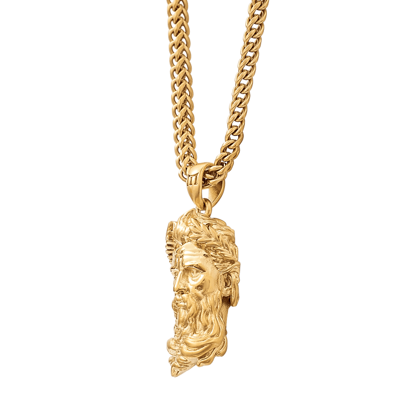 Poseidon Necklace - Gold
