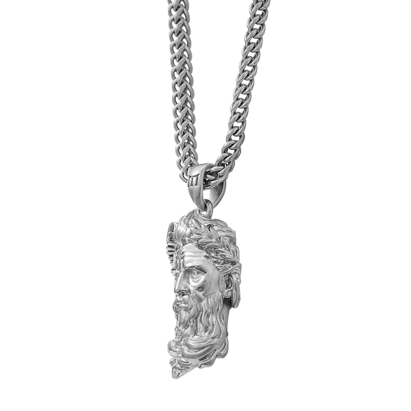 Poseidon Necklace - White Gold