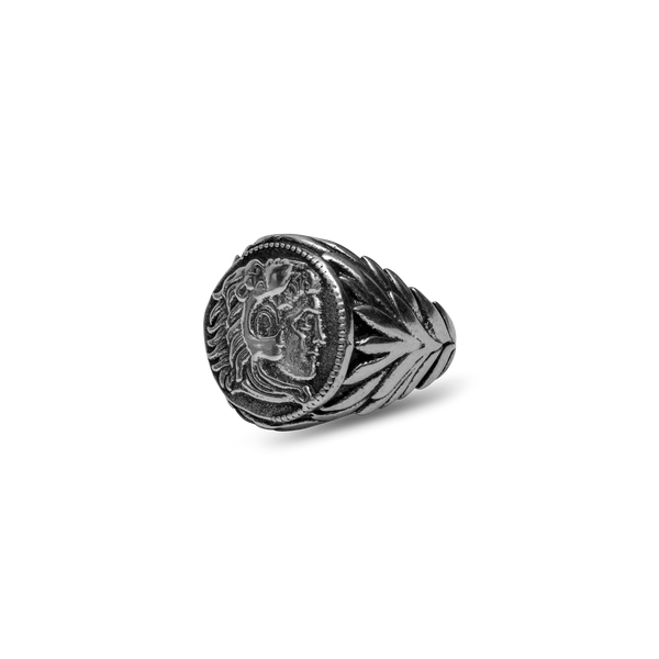 Alexander The Great Ring - Ancient Silver