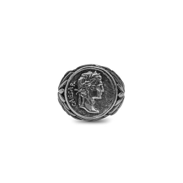 Augustus Ring - Ancient Silver (Pre-order)