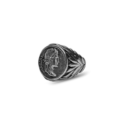 Augustus Ring - Ancient Silver