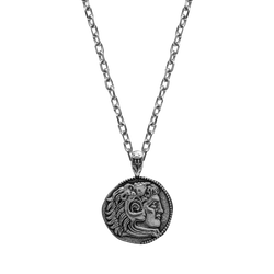 Alexander The Great Necklace - Ancient Silver - Marcozo