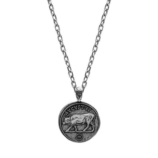 Augustus Necklace - Ancient Silver - Marcozo