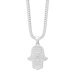 Hamsa Necklace - White (Limited Edition)