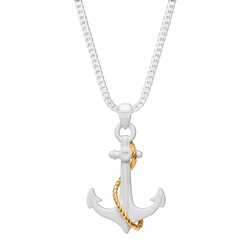 Anchor Necklace - White (Limited Edition)