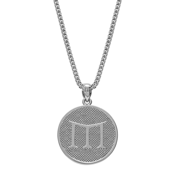 Empire Necklace - White Gold