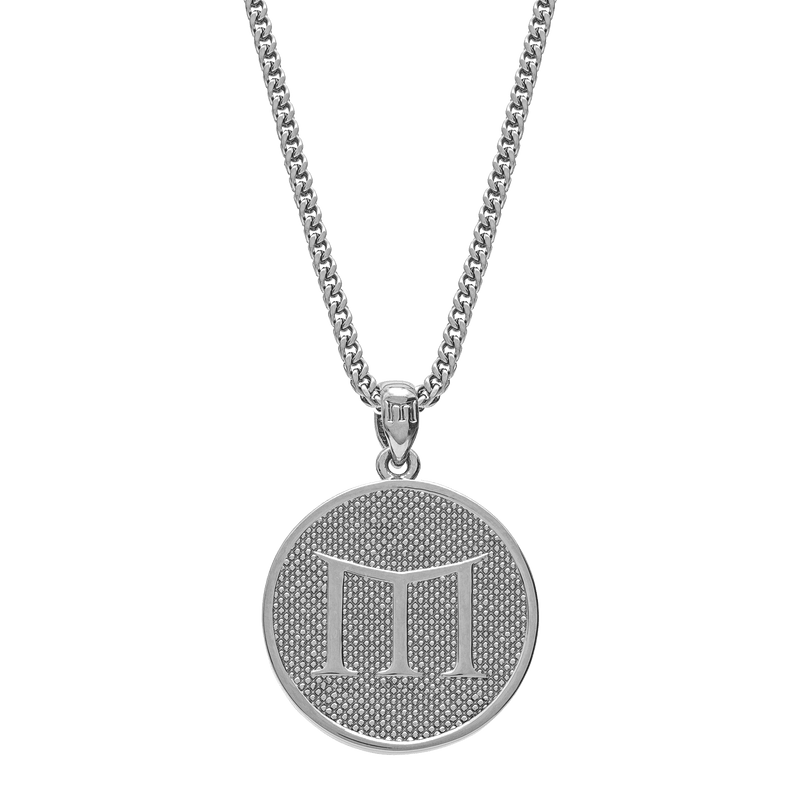 Empire Necklace - White Gold - Marcozo