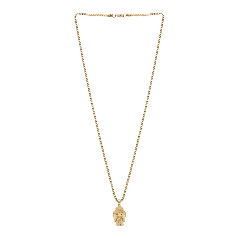 Buddha Necklace - Gold - Marcozo