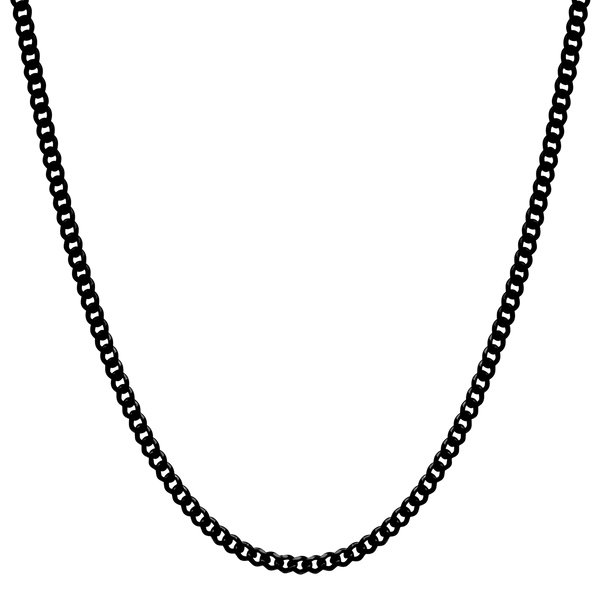 Cuban Link Chain - Black - Marcozo
