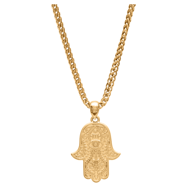 Hamsa Necklace - Gold - Marcozo