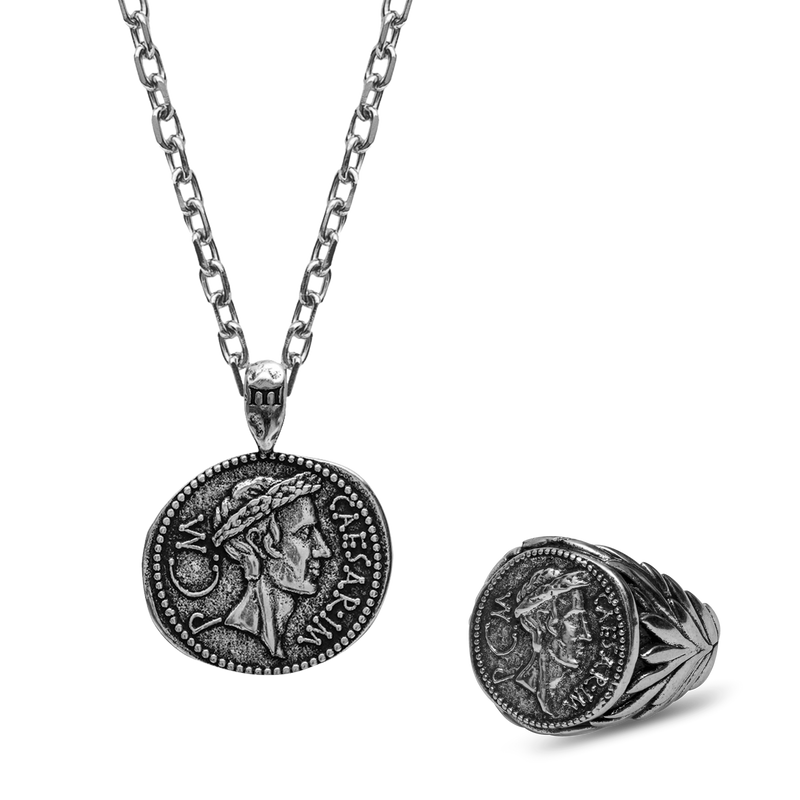 Julius Caesar Set - Ancient Silver
