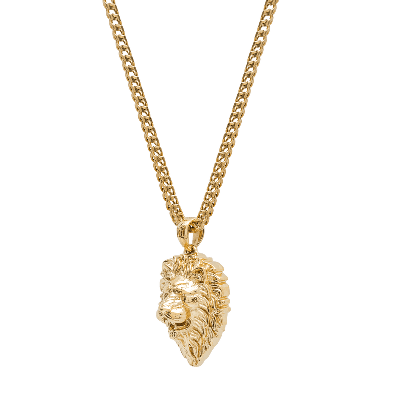 Lion Necklace - Gold - Marcozo