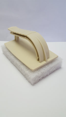 Scrubber Pad with Handle