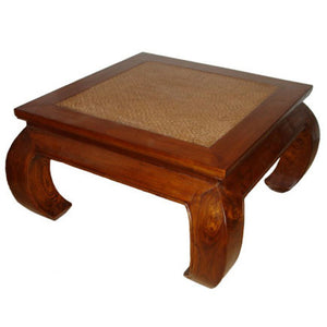 Cane Top Coffee Table