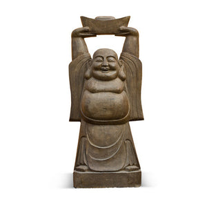 Solid Stone Laughing Buddha