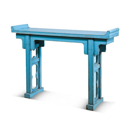 Blue Altar Table #90609