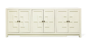 Key Cabinet 6 Door White