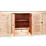 White Washed Elm Wood Buffet #31903