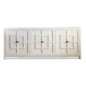 Key Cabinet 6 Door Sponge White