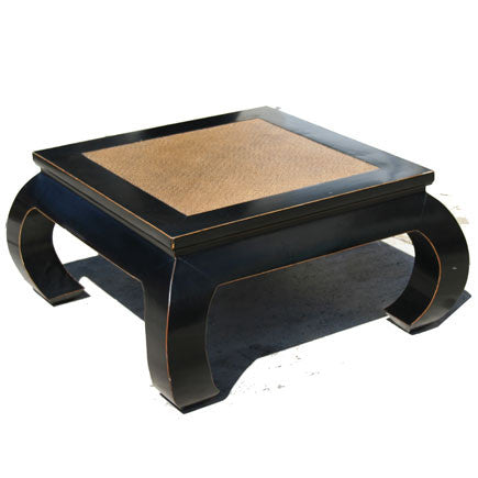 Cane Top Ming Table - Square #70174