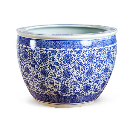 Blue and White Ceramic
