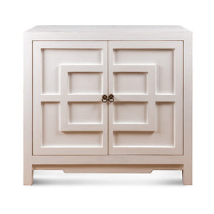 White Key Cabinet 2 Door