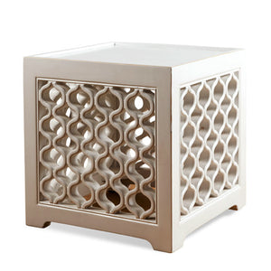 Lattice Cube Table