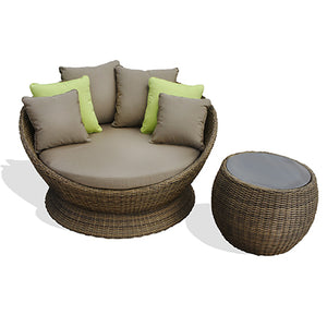 Outdoor Day Bed & End Table