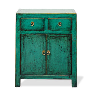 2 Drawer Nightstand Emerald