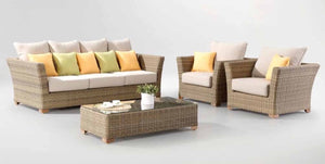 Outdoor 3 Seater Sofa Set