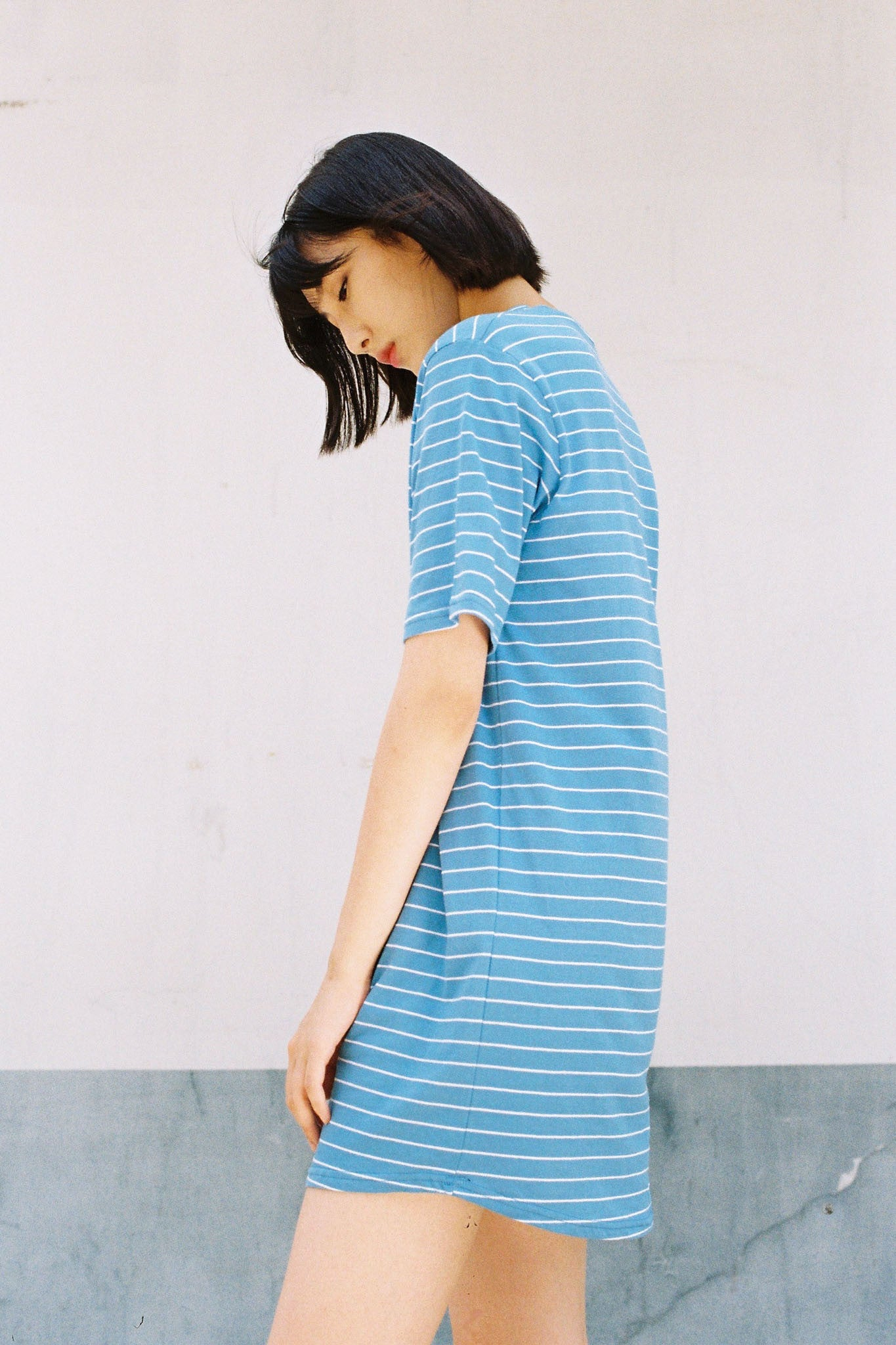 Tomboy t-shirt dress