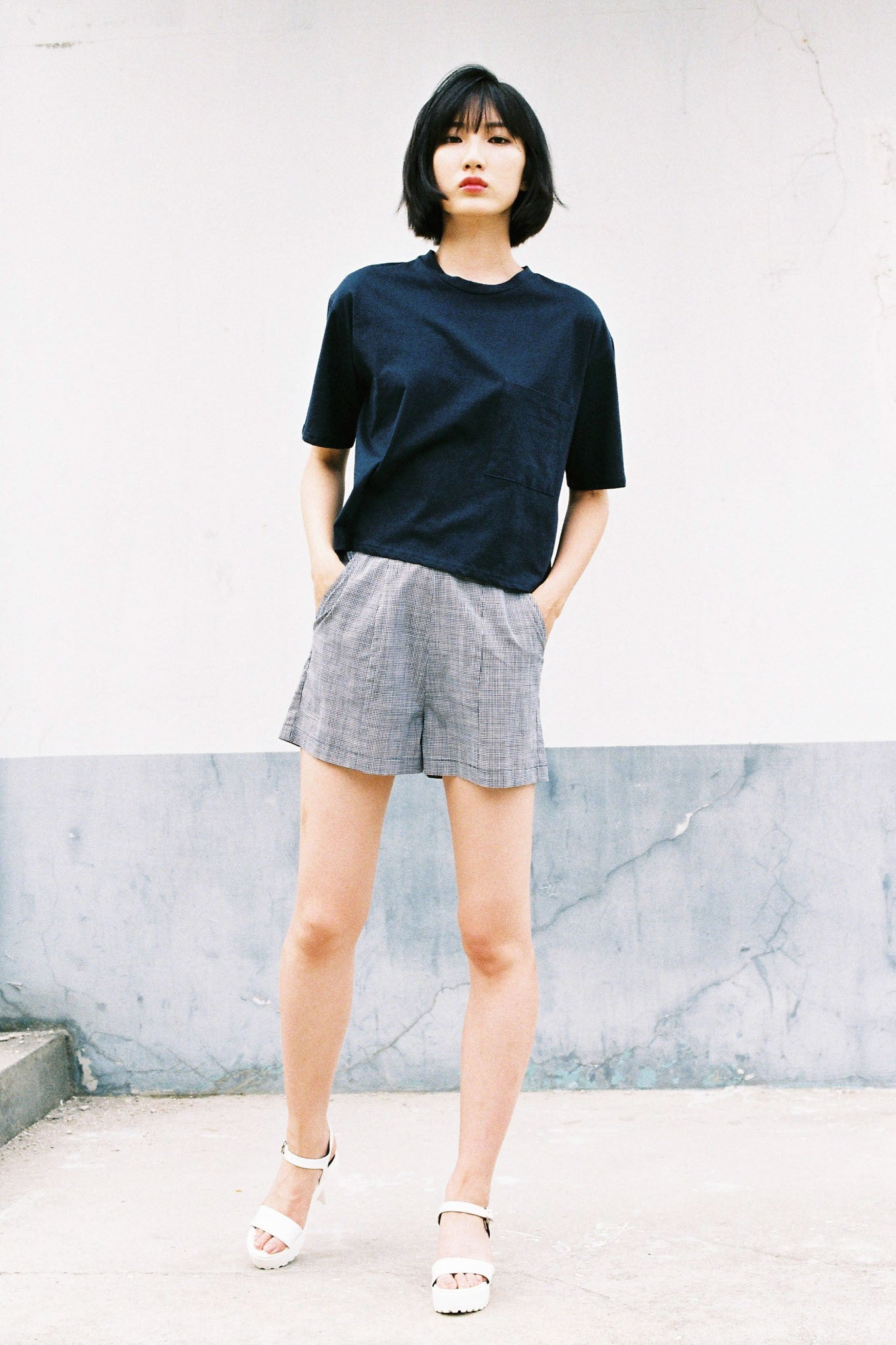 Day cropped t-shirt