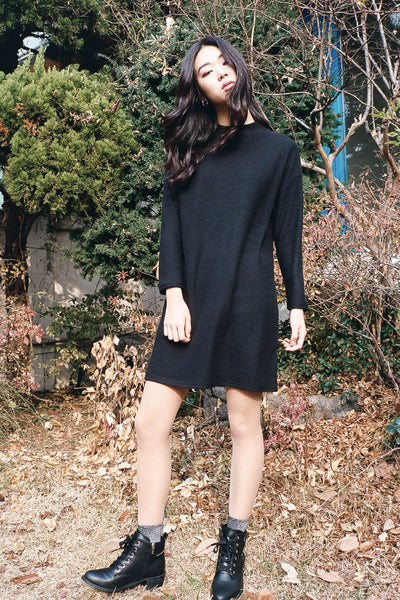 Attitude sweater dress