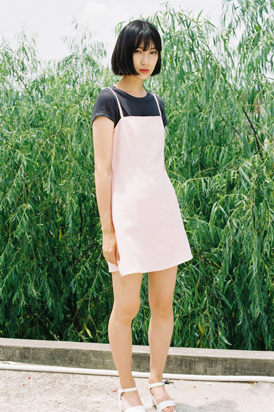 Playtime linen strappy dress