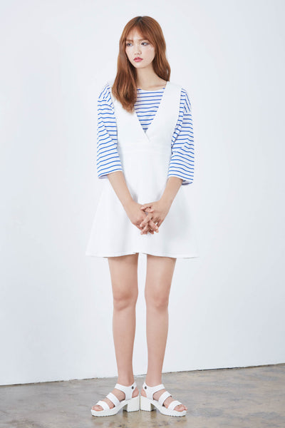 Seoul Cool pinafore dress