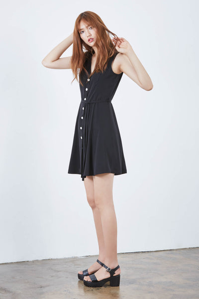Jeanne buttoned dress