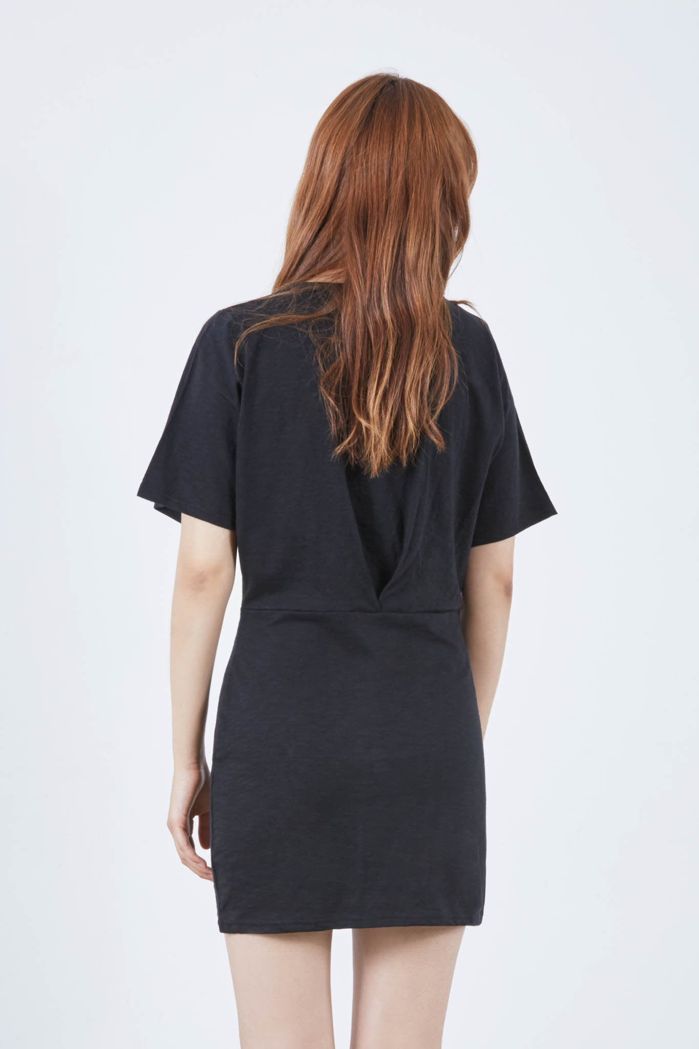 Hongik t-shirt pleat dress