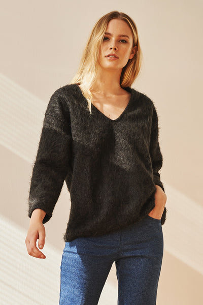Hygge V-neck knit