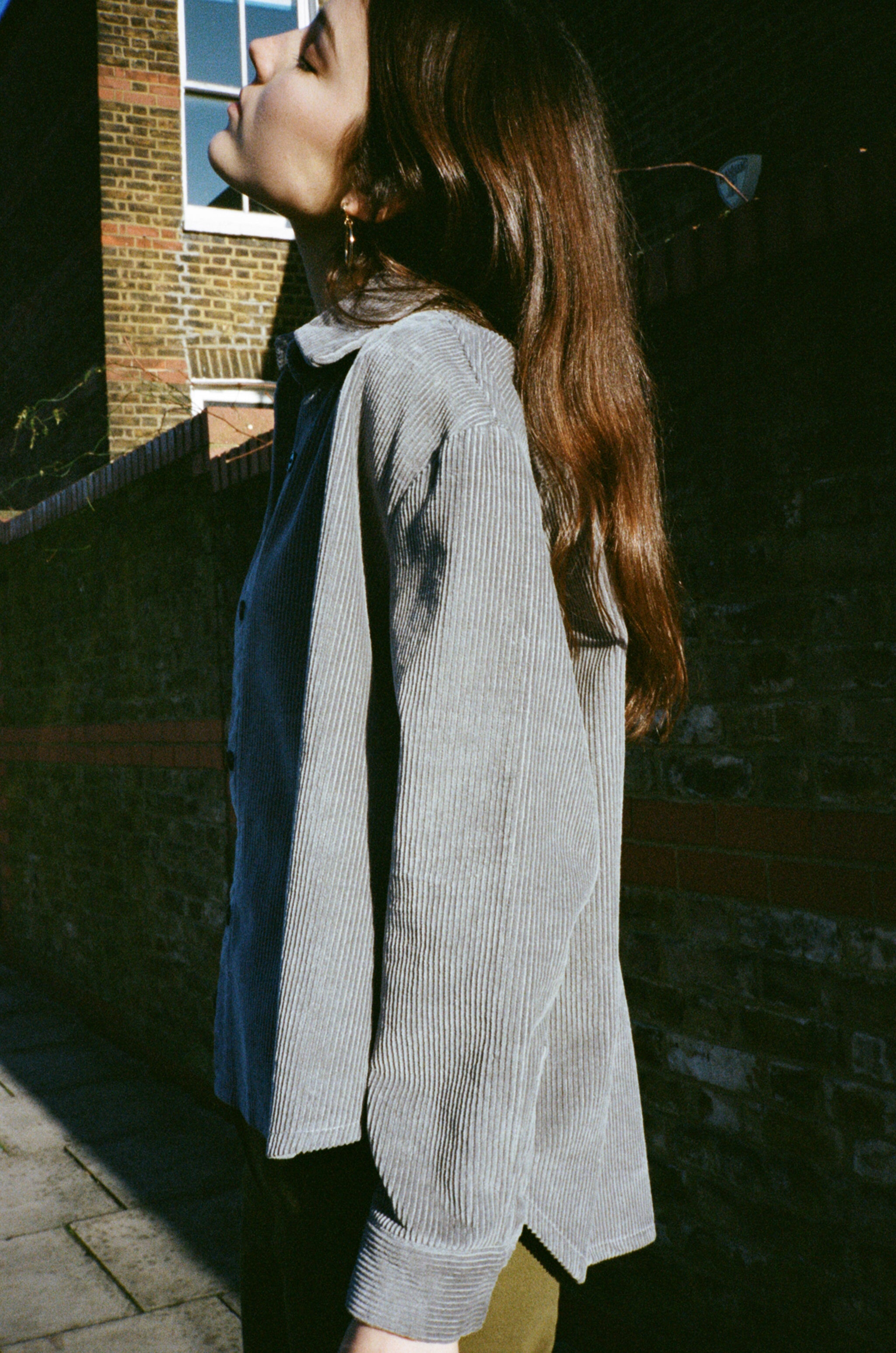 Sam corduroy oversized shirt