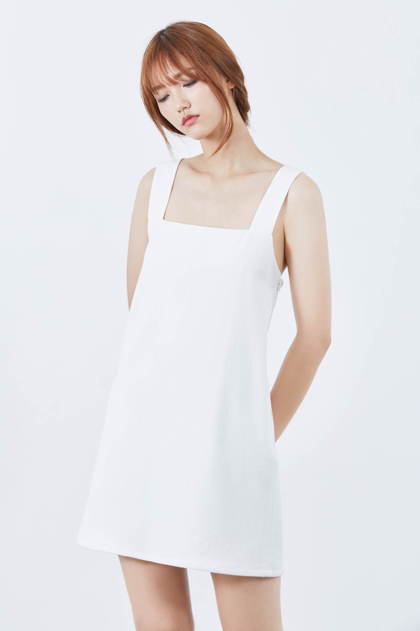 Sun cross-back dress