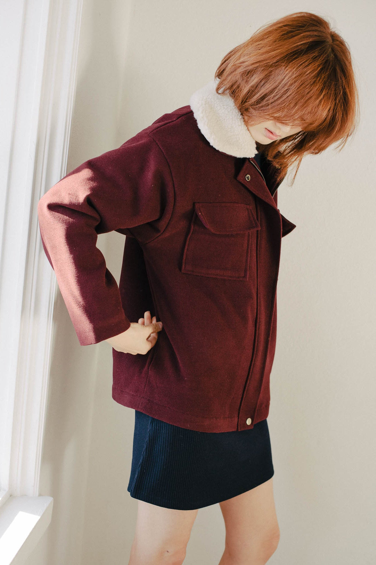 Functional patch pocket jacket