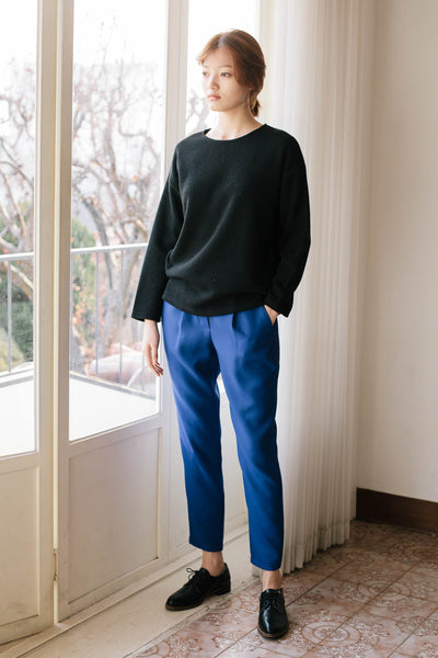 No Story pintuck trousers
