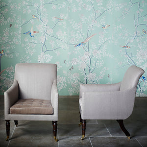trafalgar armchair by ensemblier london