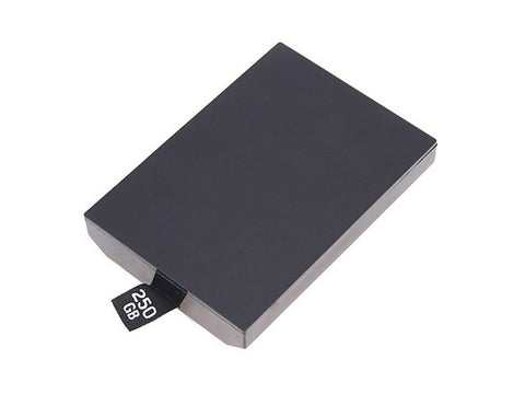 New Slim 250GB 250G HDD Internal Hard Drive Disk HDD for Microsoft Xbox 360 - Black - Hard Drive - Althemax - 1