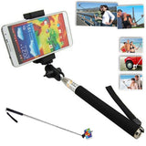 Camera Monopod Selfie Stick 1M  for cellphone Apple iphone Multi Colors - Black - Selfie Stick - Althemax - 1