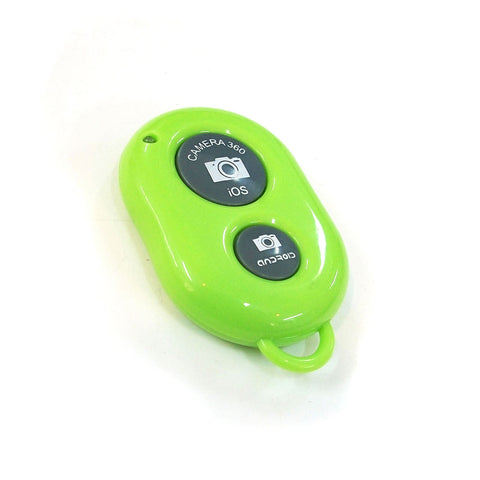Green Bluetooth Wireless Remote Control Camera Shutter Selfie for iPhone, iPad Air Mini Smartphones - Shutter Remote - Althemax - 1