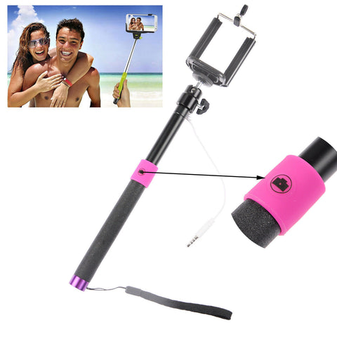 wired with sponge anti slip remote extendable shutter selfie mon alth. Black Bedroom Furniture Sets. Home Design Ideas